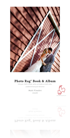 Hahnemühle Photo Rag Book & Album 220g/m²